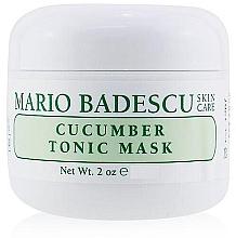 Düfte, Parfümerie und Kosmetik Straffende und porenminimierende Gesichtsreinigungsmaske mit Gurkenextrakt - Mario Badescu Cucumber Tonic Mask