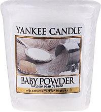 Düfte, Parfümerie und Kosmetik Votivkerze Baby Powder - Yankee Candle Votive Baby Powder