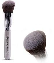 Düfte, Parfümerie und Kosmetik Rougepinsel - Nanshy Blush & Bronze A01 P. White