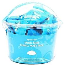 Düfte, Parfümerie und Kosmetik Anti-Irritation Blasengesichtsmasken mit Lactobacillus-Ferment - Ayoume Enjoy Mini Bubble Mask Pack