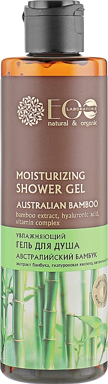 Duschgel mit Bambusextrakt, Vitaminkomplex und Hyaluronsäure - ECO Laboratorie