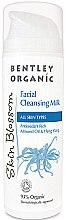 Düfte, Parfümerie und Kosmetik Gesichtsreinigungsmilch - Bentley Organic Skin Blossom Facial Cleansing Milk