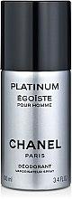 Düfte, Parfümerie und Kosmetik Chanel Egoiste Platinum - Deospray