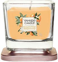Düfte, Parfümerie und Kosmetik Duftkerze im Glas Elevation Kumquat & Orange - Yankee Candle Elevation Kumquat & Orange