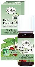 Düfte, Parfümerie und Kosmetik Organisches ätherisches Öl Wintergrün - Galeo Organic Essential Oil Gaultherie