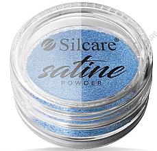 Düfte, Parfümerie und Kosmetik Nagelpuder - Silcare Satine Powder