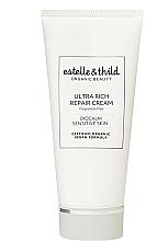 Düfte, Parfümerie und Kosmetik Ultra reichhaltige und regenerierende Gesichtscreme mit Ceramiden und Bio Sheabutter - Estelle & Thild BioCalm Ultra Rich Repair Cream