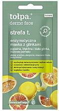 Düfte, Parfümerie und Kosmetik Enzym-Gesichtsmaske mit Tonerde (Mini) - Tolpa Dermo Face Strefa T Face Mask