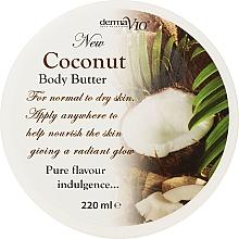 Düfte, Parfümerie und Kosmetik Körperbutter mit Kokosnuss - Derma V10