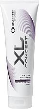 Düfte, Parfümerie und Kosmetik Anti-Gelbstich Silber-Conditioner für blondes und graues Haar - Grazette XL Concept Silver Balsam