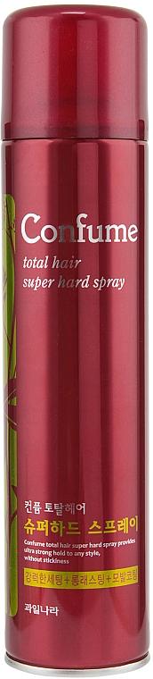 Haarspray Extra starker Halt - Welcos Confume Total Hair Superhard Spray
