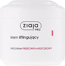 Düfte, Parfümerie und Kosmetik Intensiv glättende Gesichtscreme mit Lifting-Effekt - Ziaja Pro Lifting Cream