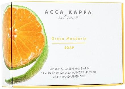 Seife Mandarine - Acca Kappa Green Mandarin Toilet Soap — Bild N1