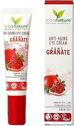 Straffende Anti-Aging Augenkonturcreme mit Granatapfel - Cosnature Eye Cream Pomegranate