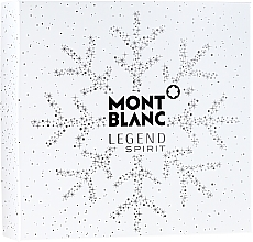 Düfte, Parfümerie und Kosmetik Montblanc Legend Spirit - Duftset (Eau de Toilette 100 ml + After Shave Balsam 100 ml + Duschgel 100 ml)