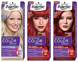Düfte, Parfümerie und Kosmetik Permanente Creme-Haarfarbe mit Liquid-Keratin - Palette ICC
