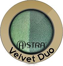 Düfte, Parfümerie und Kosmetik Lidschatten-Duo - Astra Make-up Velvet Duo Eyeshadow