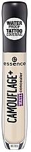 Düfte, Parfümerie und Kosmetik Wasserfester mattierender Concealer - Essence Camouflage+Matt Concealer