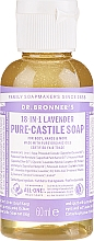 Düfte, Parfümerie und Kosmetik Flüssigseife Lavendel für Körper und Hände - Dr. Bronner's 18-in-1 Pure Castile Soap Lavender