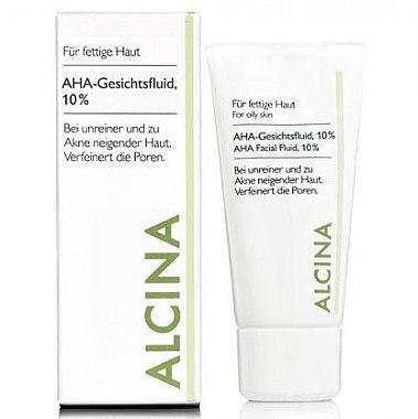 Feuchtigkeitsspendende Make-up Base - Alcina Fm Aha Fluid