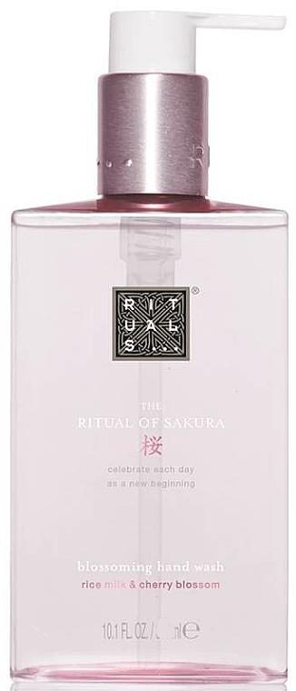 Pflegende Flüssigseife mit Reismilch- und Kirschblütenduft - Rituals The Ritual Of Sakura Hand Wash