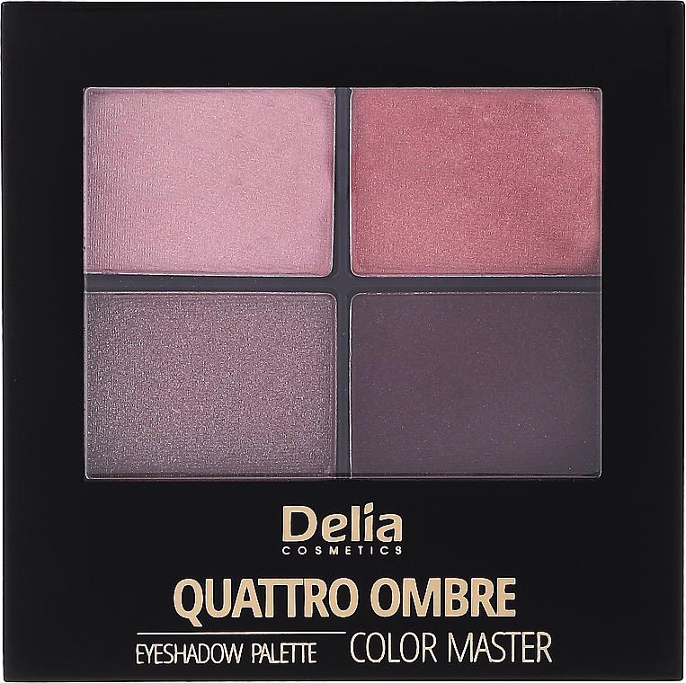 Lidschattenpalette - Delia Quattro Ombre Color Master