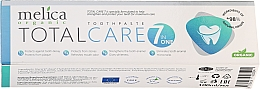 Düfte, Parfümerie und Kosmetik Zahnpasta Total Care 7 in one - Melica Organic Toothpaste Total Care 7