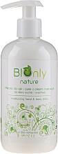 Düfte, Parfümerie und Kosmetik Feuchtigkeitsspendende Hand- und Körperlotion mit Mohnöl - BIOnly Nature Moisturizing Hand & Body Lotion