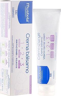 Wundschutzcreme 1-2-3 für Babys - Mustela Bebe 1 2 3 Vitamin Barrier Cream