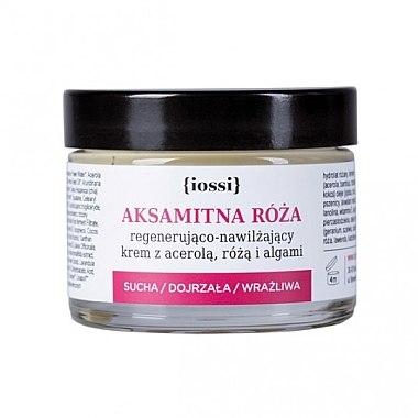 Regenerierende und feuchtigkeitsspendende Gesichtscreme mit Acerola, Rose und Algen - Iossi Regenerating Cream