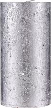 Düfte, Parfümerie und Kosmetik Naturkerze Silver Glow 15 cm - Ringa Silver Glow Candle