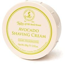Düfte, Parfümerie und Kosmetik Rasiercreme mit Avocado-Duft - Taylor of Old Bond Street Avocado Shaving Cream Bowl