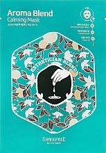 Düfte, Parfümerie und Kosmetik Beruhigende Tuchmaske für das Gesicht - Shangpree Aroma Blend Calming Mask