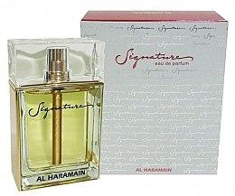 Düfte, Parfümerie und Kosmetik Al Haramain Signature - Eau de Parfum