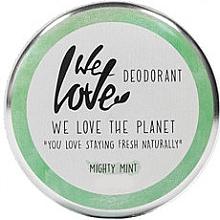 Düfte, Parfümerie und Kosmetik Deo-Creme Mighty Mint - We Love The Planet Mighty Mint Cream Deodorant