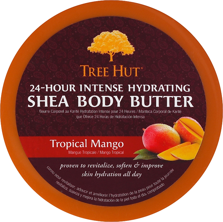 Körperbutter mit Mango - Tree Hut Body Butter — Bild N1