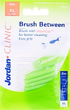 Düfte, Parfümerie und Kosmetik Interdentalzahnbürsten Clinic M 0,8 mm XL 10 St. - Jordan Interdental Brush Clinic Brush Between
