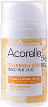 Düfte, Parfümerie und Kosmetik Bio Deo Roll-on mit Zitrone und Moringa - Acorelle Deodorant Care Limone & Moringa