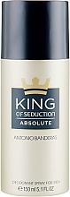 Düfte, Parfümerie und Kosmetik Antonio Banderas King of Seduction Absolute - Deospray für Männer