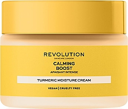 Düfte, Parfümerie und Kosmetik Antioxidative Gesichtscreme mit Kurkuma - Revolution Skincare Boost Calming Turmeric