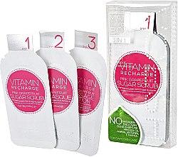 Düfte, Parfümerie und Kosmetik 3-stufiges Hände- und Nägelpflege-Set mit Grapefruit - Voesh Mani In A Box Vitamin Recharge Pink Grapefruit (10 g)