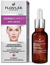 Düfte, Parfümerie und Kosmetik Anti-Aging Säurepeeling für die Nachtpflege - Floslek Dermo Expert Anti Aging Peeling