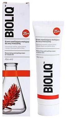 Feuchtigkeitsspendende und mattierende Gesichtscreme mit Aloe Vera - Bioliq 25+ Face Cream — Bild N2