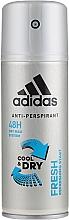 Düfte, Parfümerie und Kosmetik Adidas Anti-Perspirant Fresh Cool Dry 48h - Deospray Antitranspirant