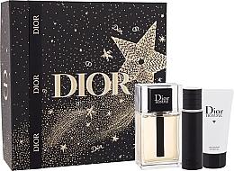 Düfte, Parfümerie und Kosmetik Dior Xmas New Dior Homme Jewel Box - Duftset (Eau de Toilette 100ml + Eau de Toilette 10ml + Duschgel 50ml)