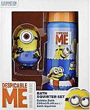 Düfte, Parfümerie und Kosmetik Geschenkset Minion Made - Corsair Despicable Me Bath Squirter Set (Sprudelbad 250ml + Spritzspielzeug)