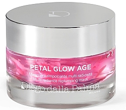 Düfte, Parfümerie und Kosmetik Anti-Aging Gesichtsmaske mit Rosenduft - Diego Dalla Palma Petal Glow Age