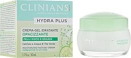Düfte, Parfümerie und Kosmetik Feuchtigkeitsspendende Gesichtsgel-Creme für fettige und Mischhaut - Clinians Hydra Plus Moisturizing Face Gel-Cream