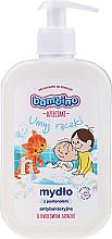 Düfte, Parfümerie und Kosmetik Antibakterielle flüssige Handseife für Kinder mit Panthenol und Fruchtduft - Bambino Family Antibacterial Soap