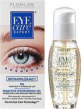 Düfte, Parfümerie und Kosmetik Feuchtigkeitsspendendes Augengel - Floslek Eye Care Bioactive Moisturizing Gel Under Eyes And Around Mouth Area